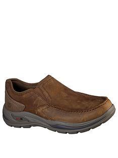 skechers-hust-arch-fit-motley-shoe-brown