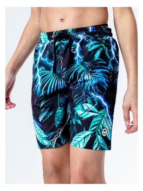 hype-boys-electric-palm-swim-shorts