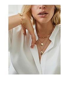 mint-velvet-gold-hammered-short-necklace-gold