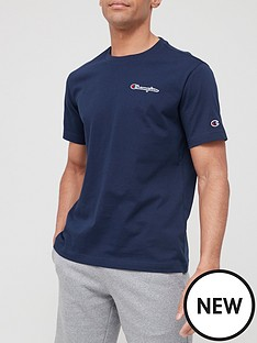 champion-small-logo-t-shirt-navy