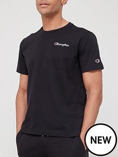 champion-small-logo-t-shirt-black