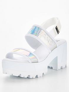 tommy-jeans-iridescent-mid-heel-chunky-sandal-white