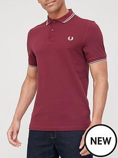 fred-perry-twin-tipped-the-fred-perrynbsppolo-shirt-burgundy