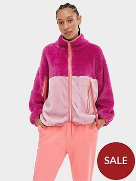 ugg-marlene-sherpa-jacket-pink