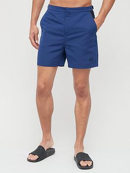 fred-perry-contrast-panel-swim-short-navy