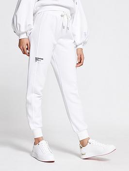 river-island-borg-branded-oversized-jogger-white