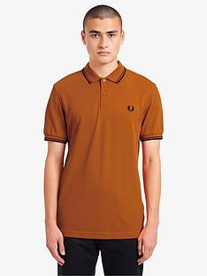 fred-perry-twin-tipped-fred-perry-polo-shirt-rust
