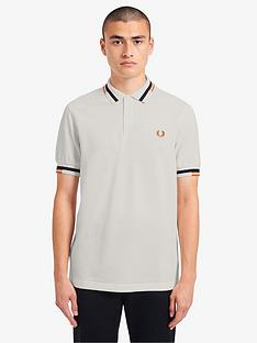 fred-perry-abstract-tipped-polo-shirt-white