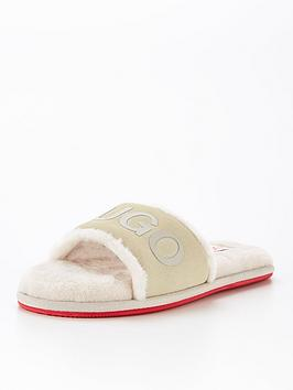 hugo-cozy-slider-slipper-cream