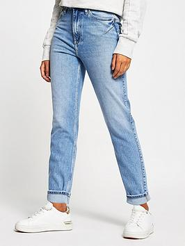 river-island-distressed-mom-jean-mid-blue