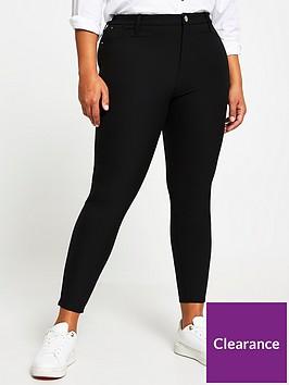 ri-plus-molly-high-waist-techno-skinny-trouser-black