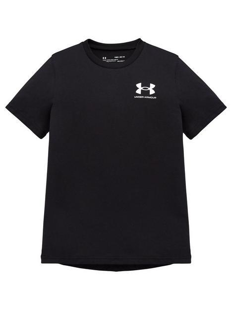 under-armour-boys-sportstylenbspshort-sleeve-t-shirt-black
