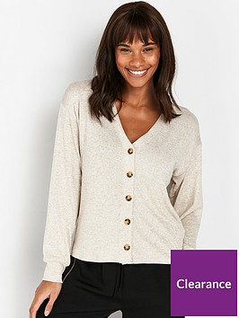 wallis-cut-and-sew-cardigan-oatmeal