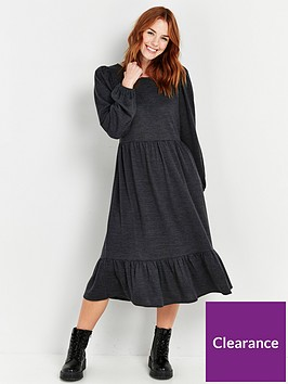 wallis-cut-and-sew-tierednbspdress-grey
