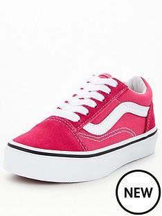 vans-uy-kidsnbspold-skool-pinkwhite