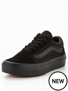 vans-childrens-old-skool-trainers-black