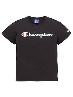 champion-girls-crewneck-short-sleeve-t-shirt-black
