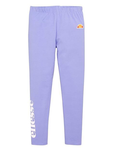 ellesse-junior-girls-cabio-legging-purple