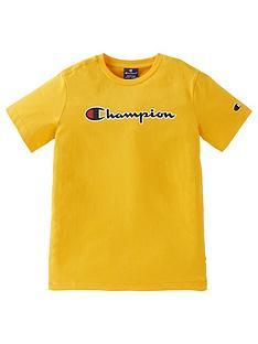 champion-boys-crewneck-t-shirt-yellow