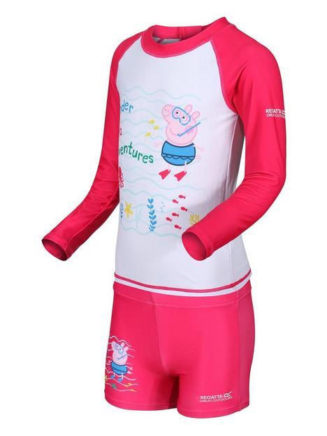 regatta-peppa-pignbsprash-suit-pink