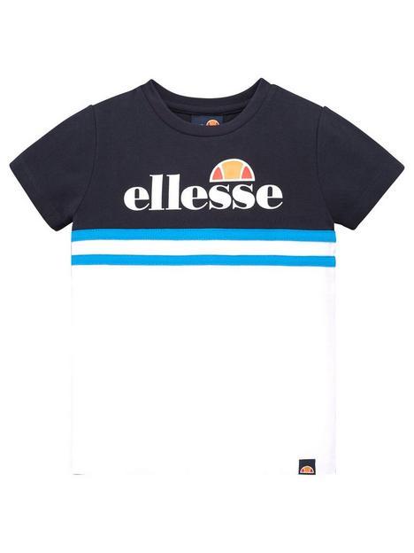 ellesse-younger-boys-fordeni-t-shirt-multi
