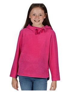 regatta-girls-kalina-lightweight-hooded-fleece-pink
