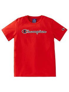 champion-boys-crewneck-t-shirt-red