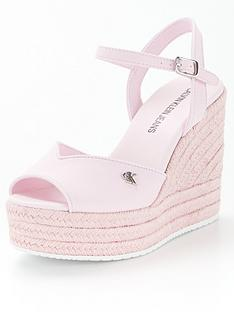 tommy-jeans-jeans-ankle-strapnbsphigh-wedges-pink