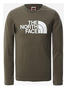 the-north-face-unisex-long-sleeve-easy-t-shirt-green