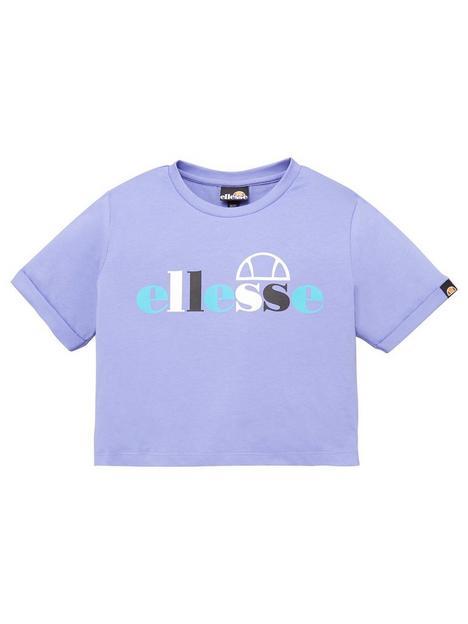 ellesse-junior-girls-gianduia-crop-t-shirt-purple