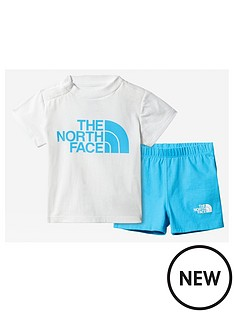 the-north-face-infant-cotton-summer-set-white