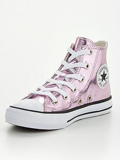 converse-chuck-taylor-all-star-junior-hinbspshine-hi-top-plimsolls-pink