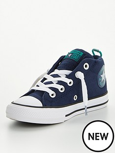 converse-chuck-taylor-all-star-street-mini-wordmarknbspchildrens-hi-top-plimsolls-navy