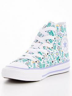 converse-chuck-taylor-all-star-floral-junior-hi-top-trainer-whiteblue