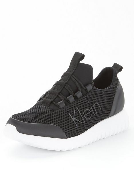 calvin-klein-jeans-jeansnbsplace-up-mesh-runners-black