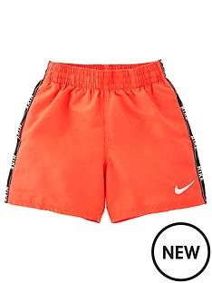 nike-boysnbsplogo-tape-4-inch-volley-short-orange