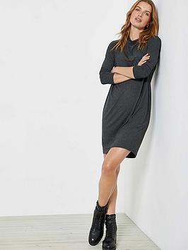 mint-velvet-grey-cowl-neck-jersey-dress