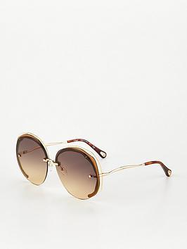 chloe-dree-round-sunglasses-brown