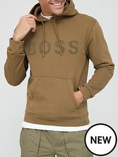 boss-zeefast-logo-overhead-hoodie-dark-olivenbsp