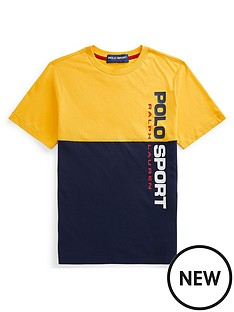 ralph-lauren-boys-polo-sport-colour-block-t-shirt-yellowblue