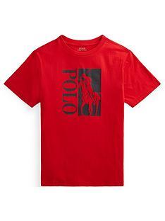 ralph-lauren-boys-big-pony-polo-t-shirt-red