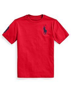 ralph-lauren-boys-pony-polo-3-t-shirt-red