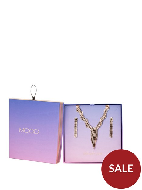 mood-rose-gold-plated-crystal-necklace-amp-earring-set