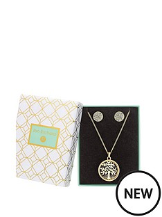 jon-richard-gold-plated-crystal-tree-of-life-shaker-necklace-amp-earring-set