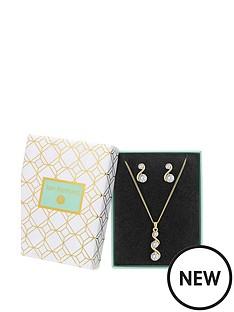 jon-richard-gold-crystal-twist-pendant-amp-earring-set