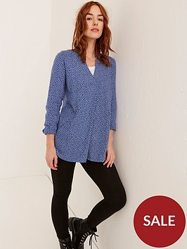 fatface-fatface-thandie-daisy-ditsy-longline-blouse-blue