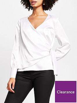 river-island-trim-detail-wrap-blouse-ivory