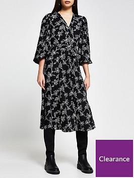 river-island-floral-midi-dress-black
