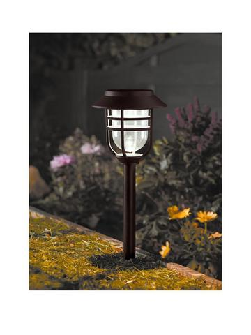 Details about  /Solar outdoor pathway garden led lights set of 8 New