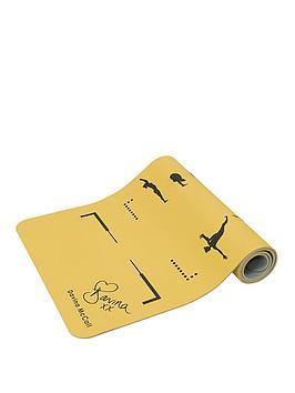 davina-mccall-davina-tpe-printed-yoga-mat-yellow